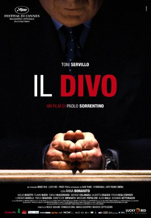 Il divo - Italian Movie Poster (thumbnail)