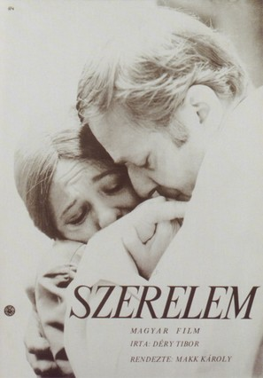 Szerelem - Hungarian Movie Poster (thumbnail)