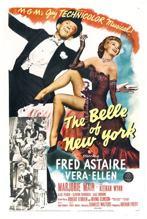 The Belle of New York - Movie Poster (thumbnail)