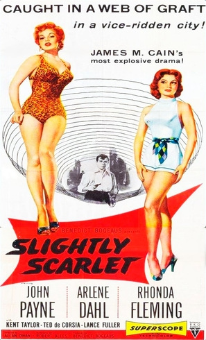 Slightly Scarlet - Movie Poster (thumbnail)