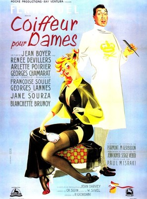 Coiffeur pour dames - French Movie Poster (thumbnail)
