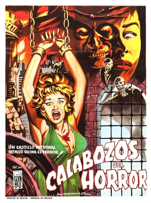 Dungeon of Harrow - Mexican Movie Poster (thumbnail)