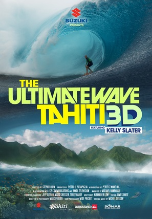 The Ultimate Wave Tahiti - Movie Poster (thumbnail)