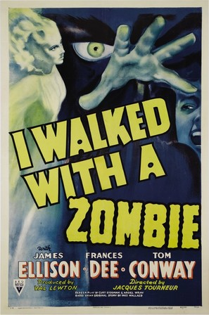 I Walked with a Zombie - Movie Poster (thumbnail)