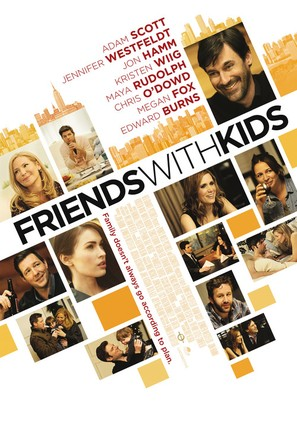 Friends with Kids - Movie Poster (thumbnail)