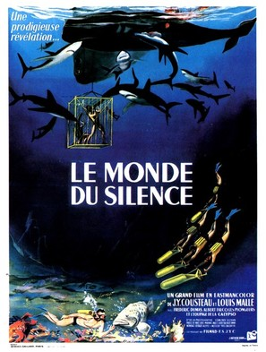 Monde du silence, Le - French Movie Poster (thumbnail)