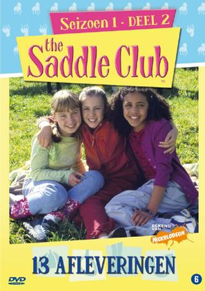 """The Saddle Club"" - Dutch DVD movie cover (thumbnail)"