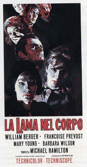 La lama nel corpo - Italian Movie Poster (thumbnail)