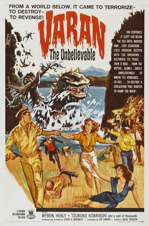 Varan the Unbelievable - Movie Poster (thumbnail)
