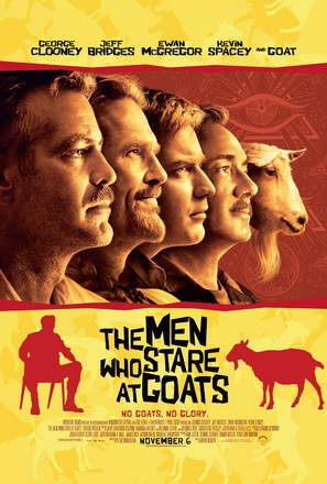 The Men Who Stare at Goats - Movie Poster (thumbnail)