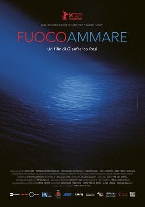 Fuocoammare - Italian Movie Poster (thumbnail)