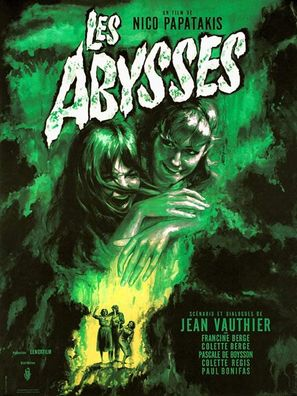Les abysses - French Movie Poster (thumbnail)