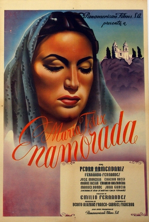 Enamorada - Mexican Movie Poster (thumbnail)