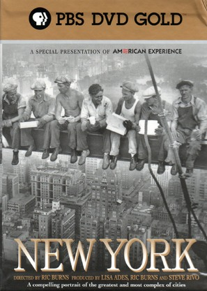 """New York: A Documentary Film"" - DVD movie cover (thumbnail)"
