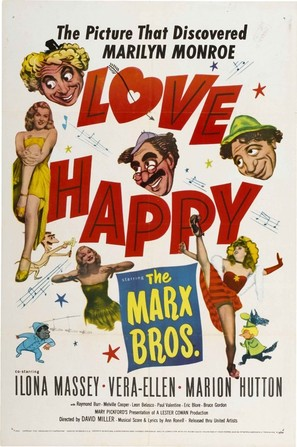 Love Happy - Movie Poster (thumbnail)
