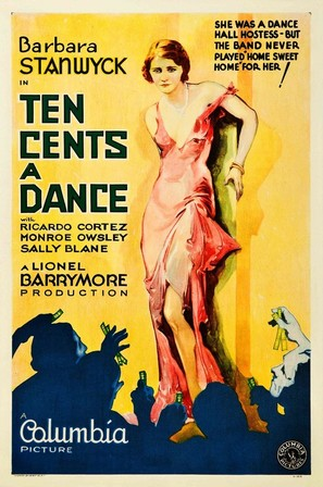 Ten Cents a Dance - Movie Poster (thumbnail)