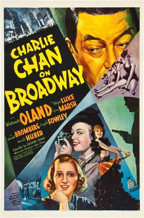 Charlie Chan on Broadway - Movie Poster (thumbnail)