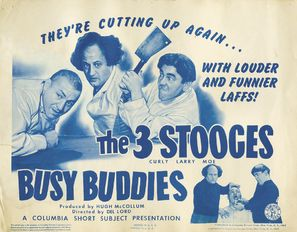 Busy Buddies - Movie Poster (thumbnail)
