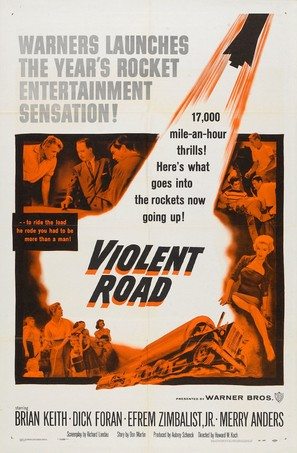 Violent Road - Movie Poster (thumbnail)