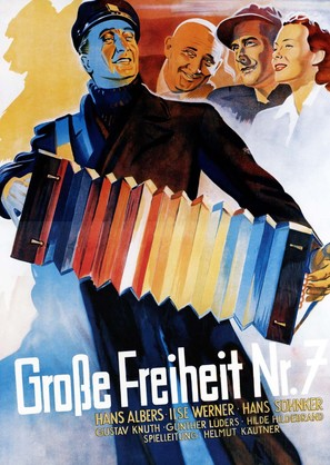 Große Freiheit Nr. 7 - German Movie Poster (thumbnail)