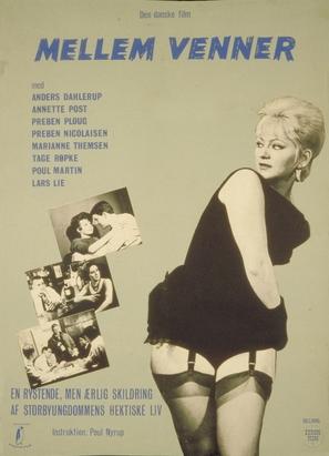 Mellem venner - Danish Movie Poster (thumbnail)