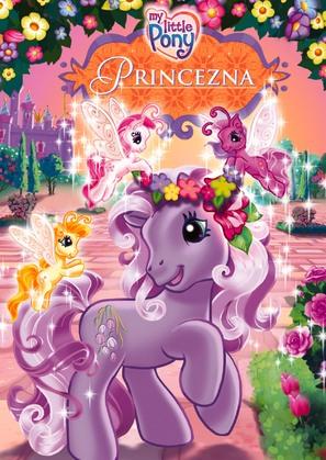 My Little Pony: The Princess Promenade - Czech DVD movie cover (thumbnail)