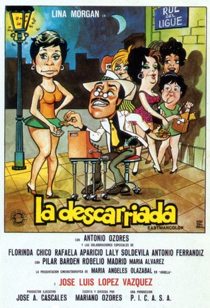 La descarriada - Spanish Movie Poster (thumbnail)