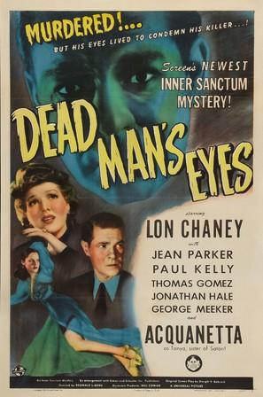 Dead Man's Eyes - Movie Poster (thumbnail)
