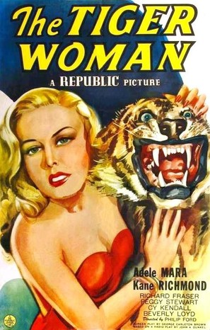 The Tiger Woman - Movie Poster (thumbnail)