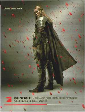 Isenhart - Die Jagd nach dem Seelenfänger - German Movie Poster (thumbnail)