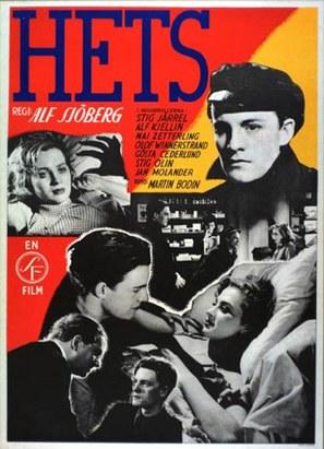 Hets - Swedish Movie Poster (thumbnail)