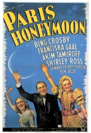 Paris Honeymoon - Movie Poster (thumbnail)