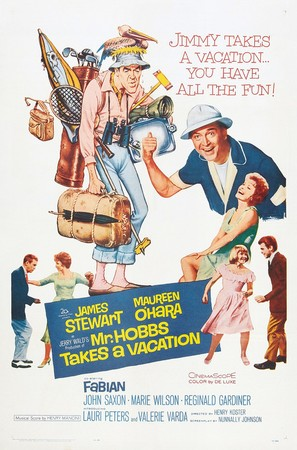 Mr. Hobbs Takes a Vacation - Movie Poster (thumbnail)