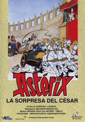 Astérix et la surprise de César - Spanish DVD movie cover (thumbnail)