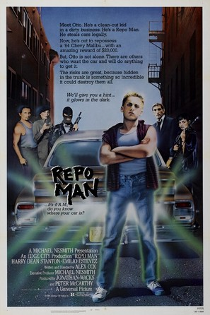Repo Man - Movie Poster (thumbnail)