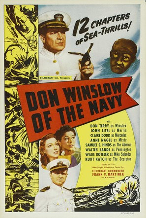Don Winslow of the Navy - Re-release poster (thumbnail)