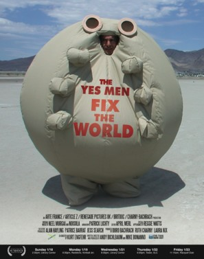 The Yes Men Fix the World - Movie Poster (thumbnail)