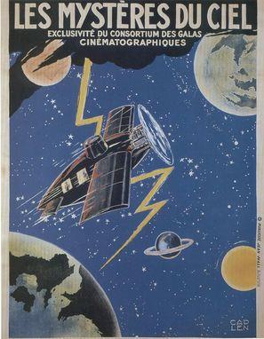 Mystéres du ciel, Les - French Movie Poster (thumbnail)