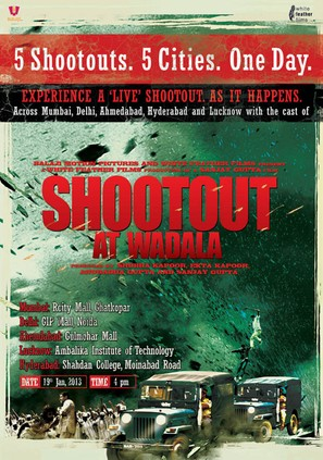 Shootout at Wadala - Indian Movie Poster (thumbnail)