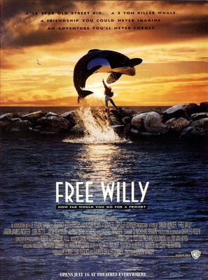 Free Willy - Movie Poster (thumbnail)