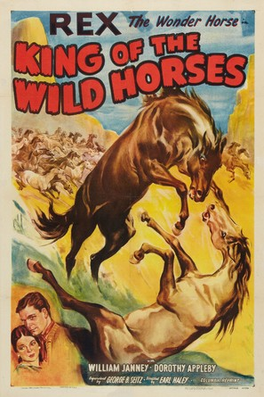 King of the Wild Horses - Movie Poster (thumbnail)