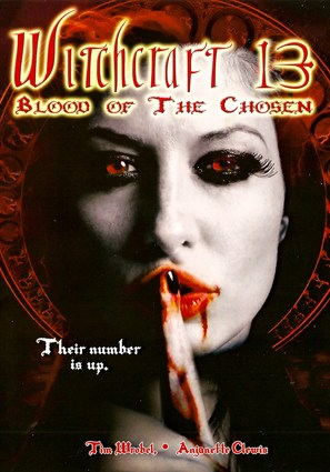 Witchcraft 13: Blood of the Chosen - DVD cover (thumbnail)