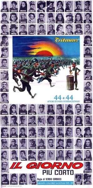 Il giorno più corto - Italian Movie Poster (thumbnail)