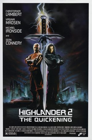 Highlander 2 - Movie Poster (thumbnail)