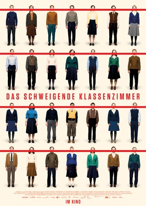 Das schweigende Klassenzimmer - German Movie Poster (thumbnail)