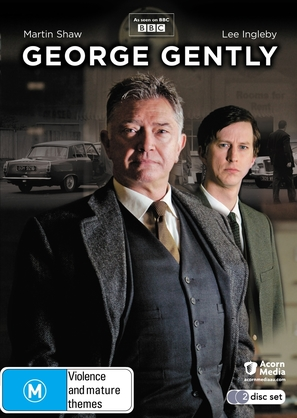 """Inspector George Gently"" - Australian DVD movie cover (thumbnail)"