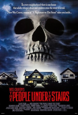 The People Under The Stairs - Movie Poster (thumbnail)