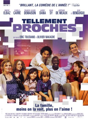 Tellement proches - French Movie Poster (thumbnail)