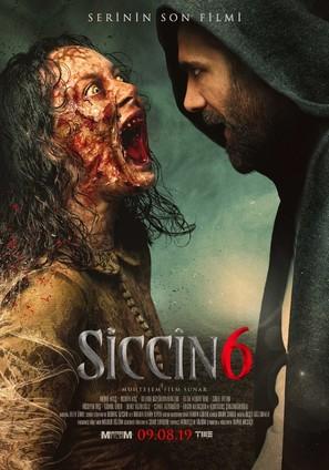 Siccin 6 - Turkish Movie Poster (thumbnail)