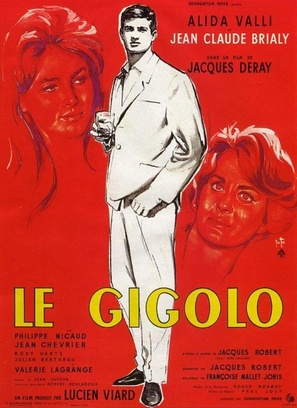 Le gigolo - French Movie Poster (thumbnail)